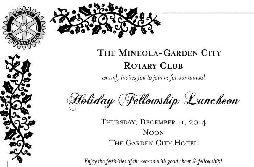 Reserve Now for the Mineola-Garden City Rotary Club's 2014 ...