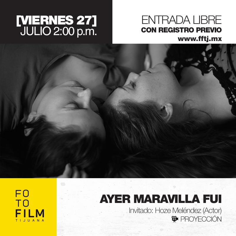 Postal-Proyeccion-AyerMaravillaFui-FFTJ2018