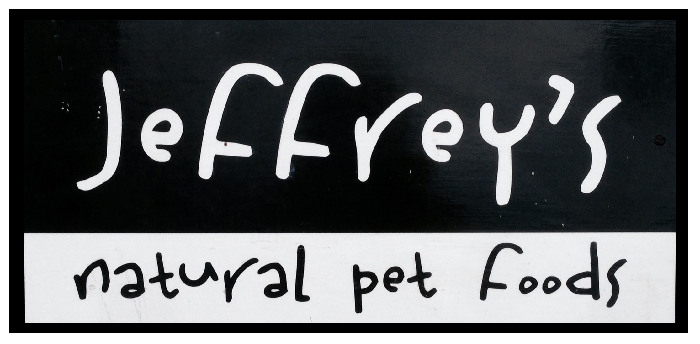 Jeffrey's Natural Pet Foods