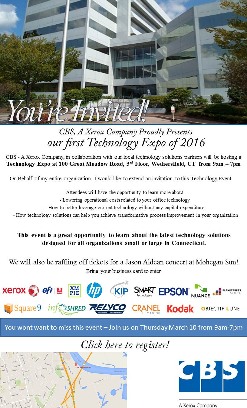 Cbs Technology Showcase And Open House Tickets Thu Mar