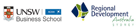 UNSW Business School and RDA Sydney logos