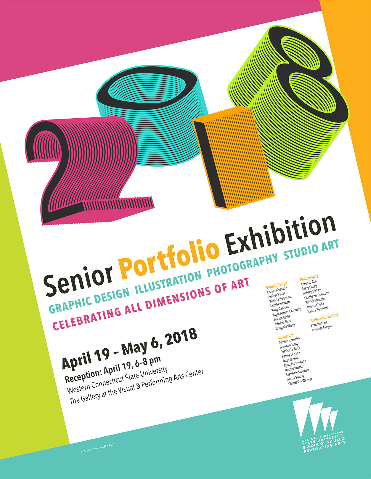 2018 Senior Portfolio Exhibition