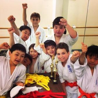 Kyokushin Karate Kids!