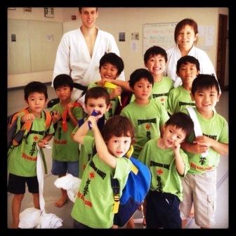 Kyokushin Summer Campers