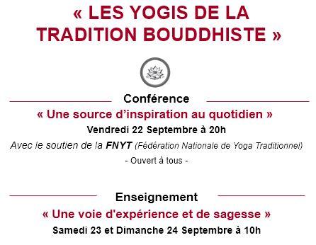 Les Yogis de la Tradition Bouddhiste