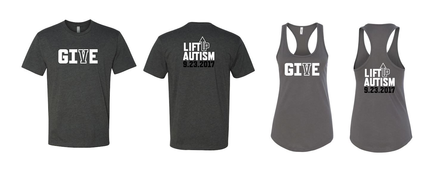 Lift Up Autism 2017 T-Shirt Design