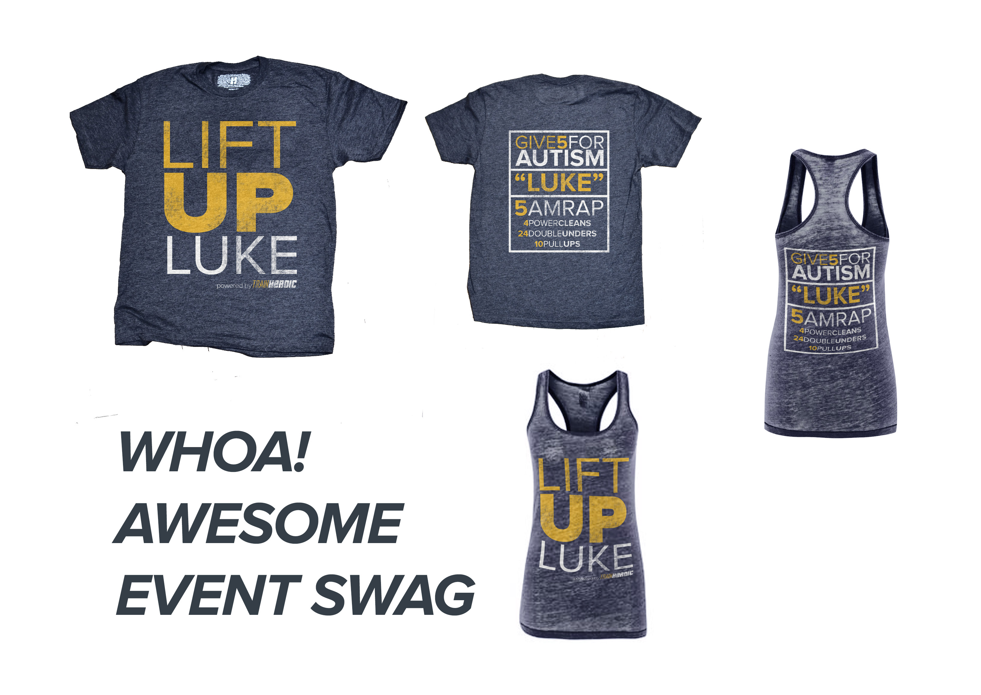 Lift Up Luke Tees