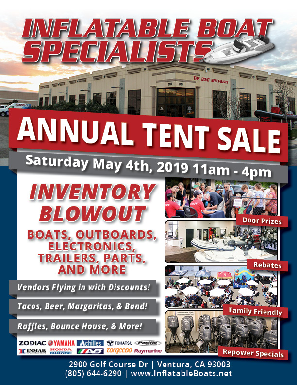 IBS Annual Tent Sale Flyer