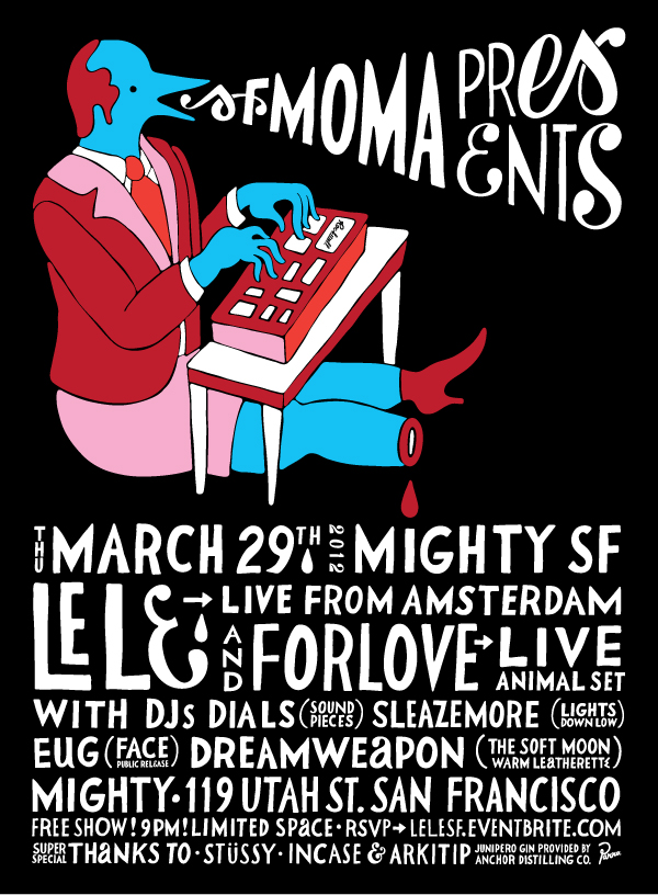 SFMOMA presents LE LE live @ MIGHTY SF