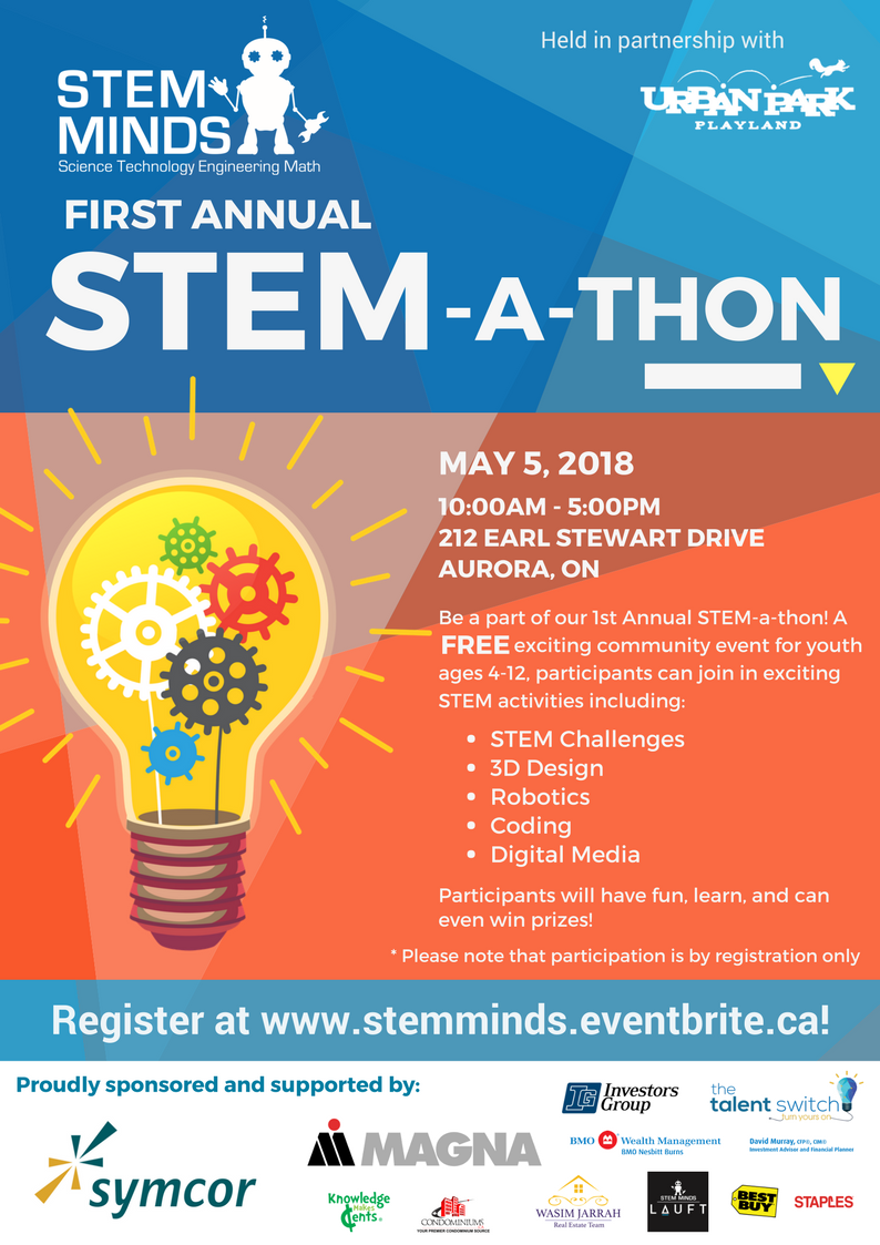 STEM-a-Thon Front