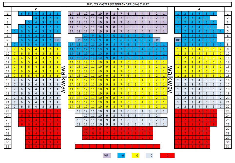 BAL Seating Chart