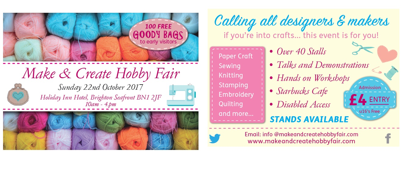 Make and Create Hobby Fair - Show leaflet -