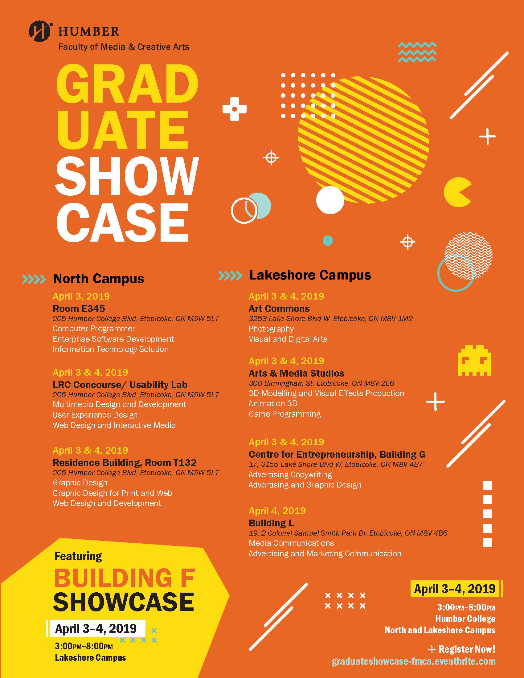 Graduate Showcase – Faculty of Media & Creative Arts