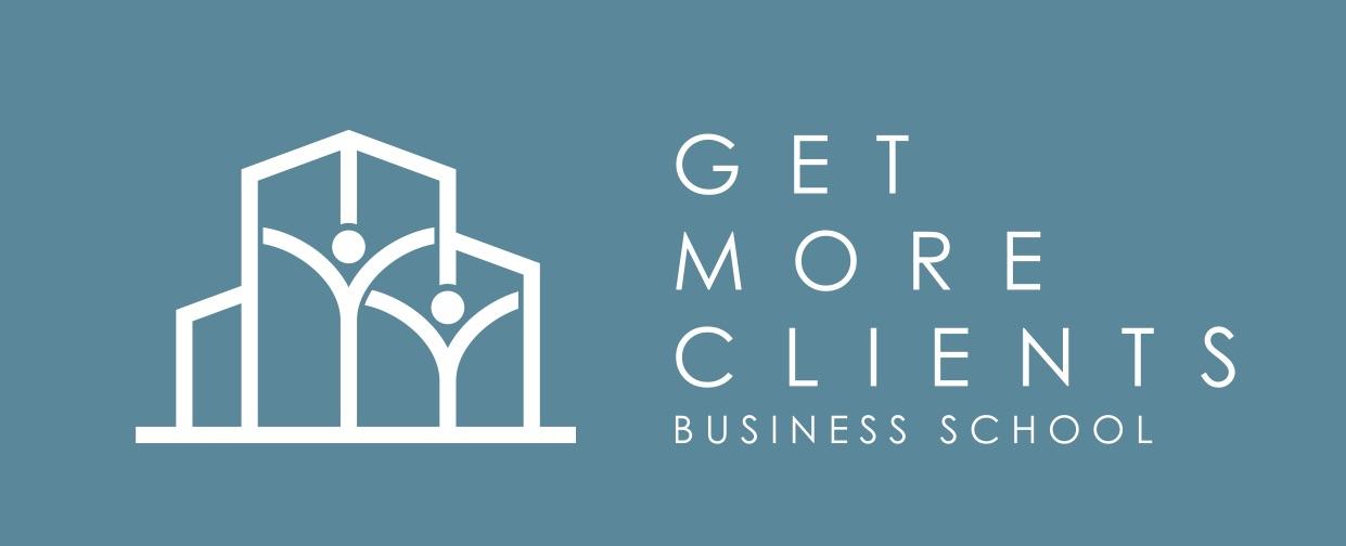 Get More Clients Business School Logo