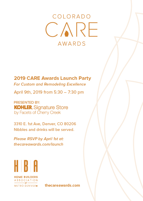 2019 CARE Awards Launch Party Invite