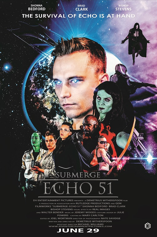 Submerge:Echo 51 Official Movie Poster