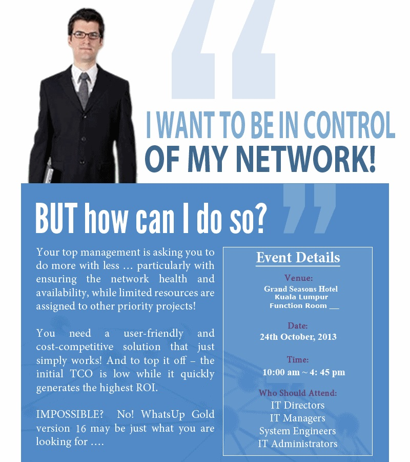 Control Your Network