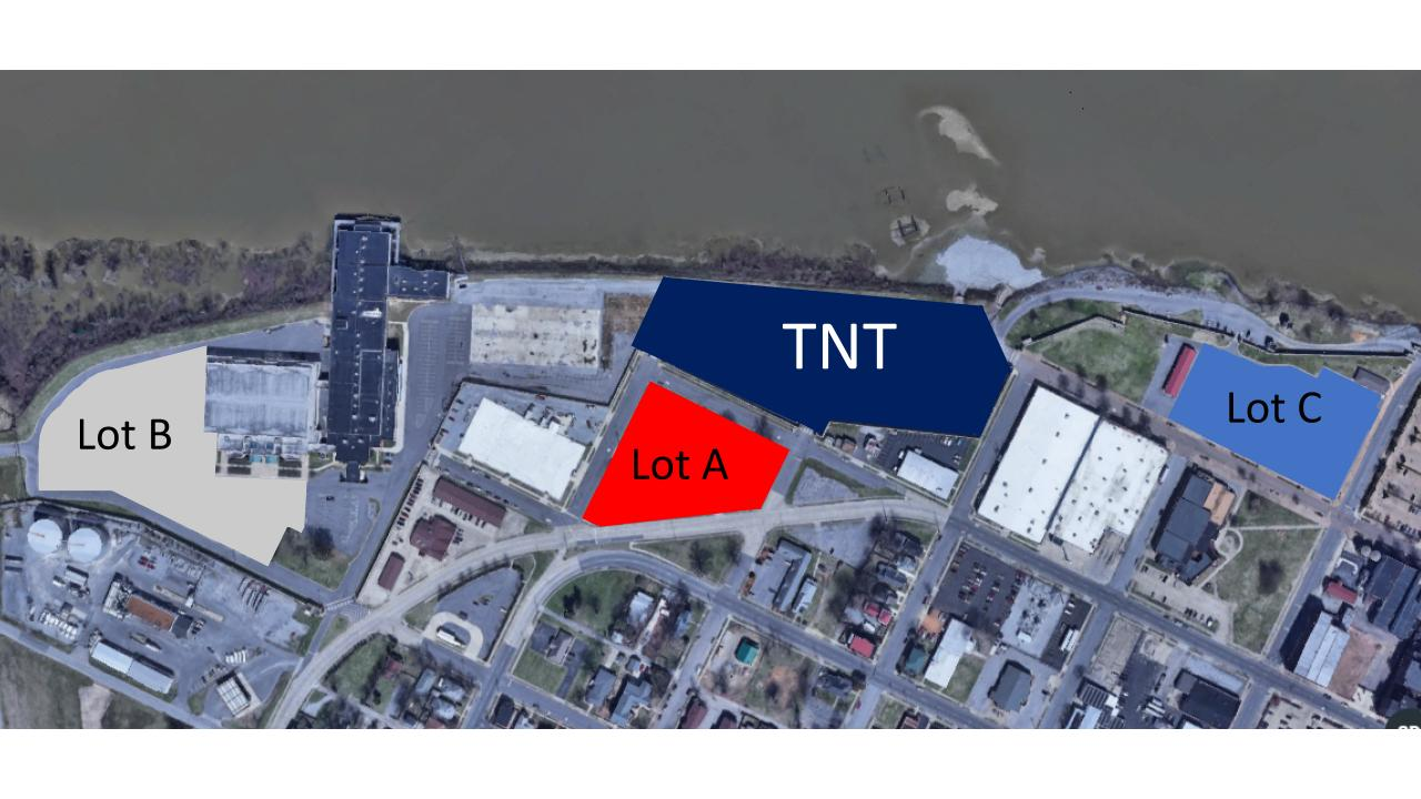 TNT 2019 Parking Map