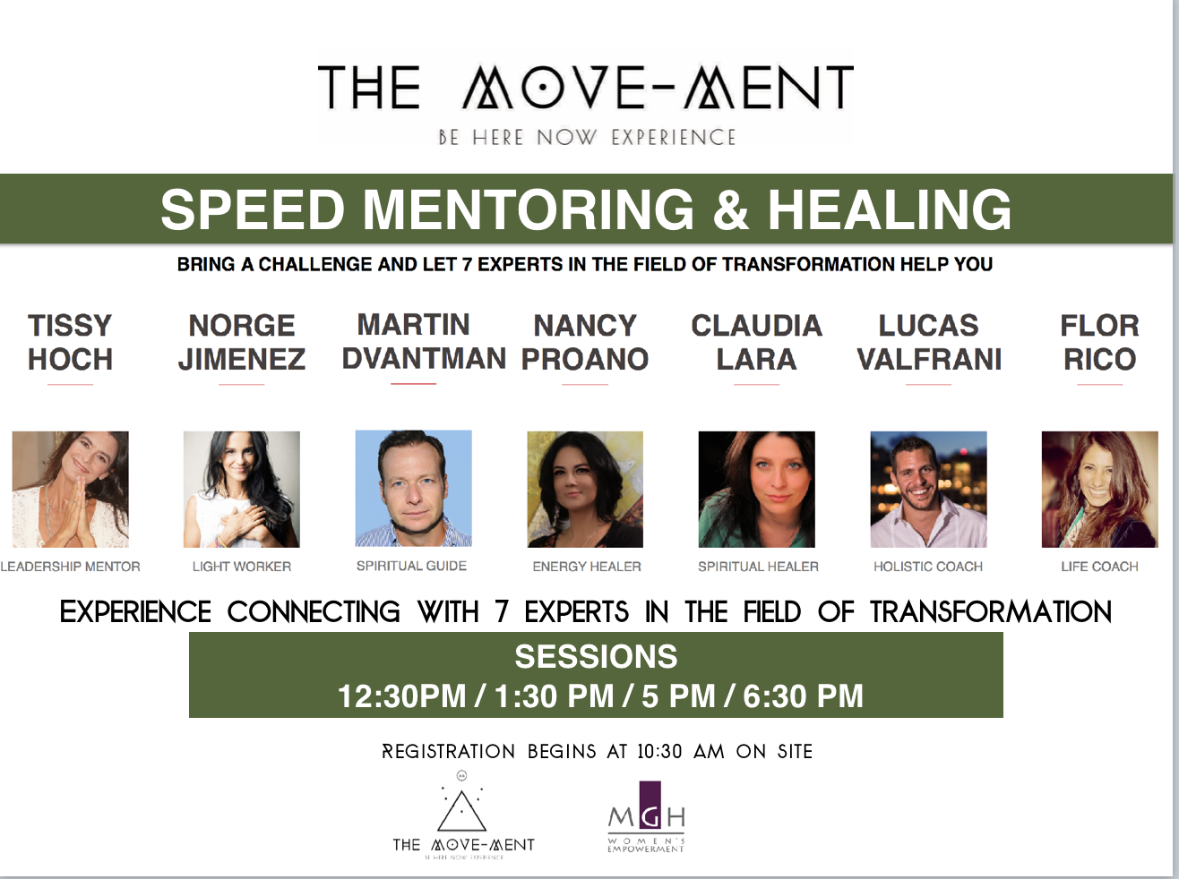 The Move-ment Be Here Now Experience healers