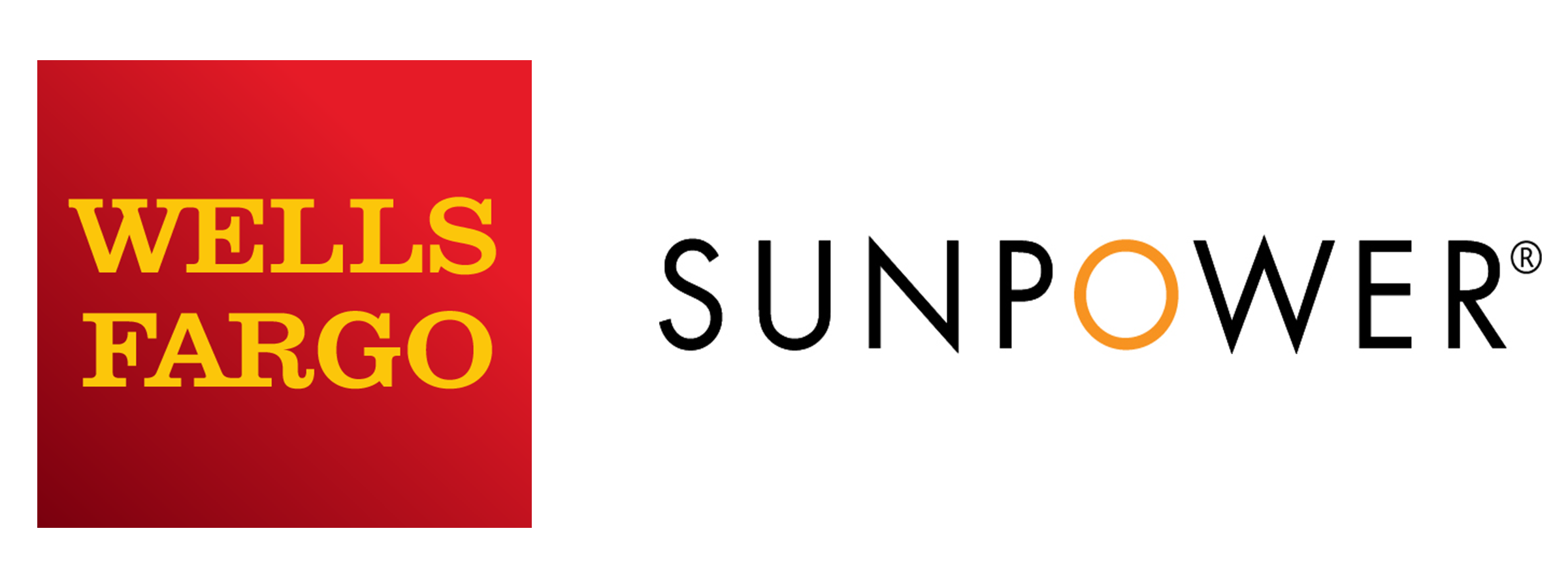 Wells Fargo and Sunpower Logo