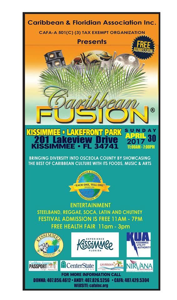 CAFA Caribbean Fusion Festival 2017