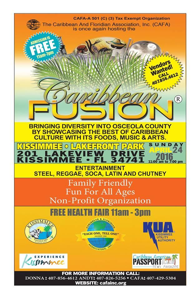 CAFA Fusion Festival 2016
