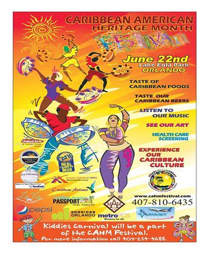Caribbean Festival Flyer