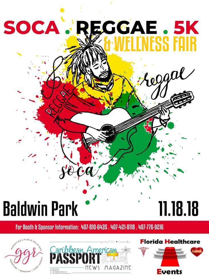 Soca Reggae 5k 2018