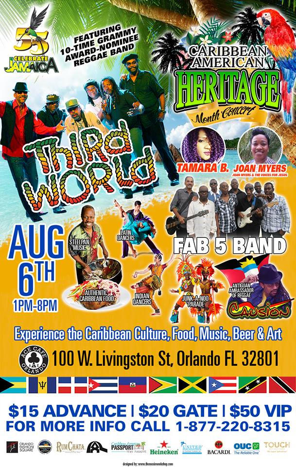 Caribbean American Heritage Month Concert with Third World