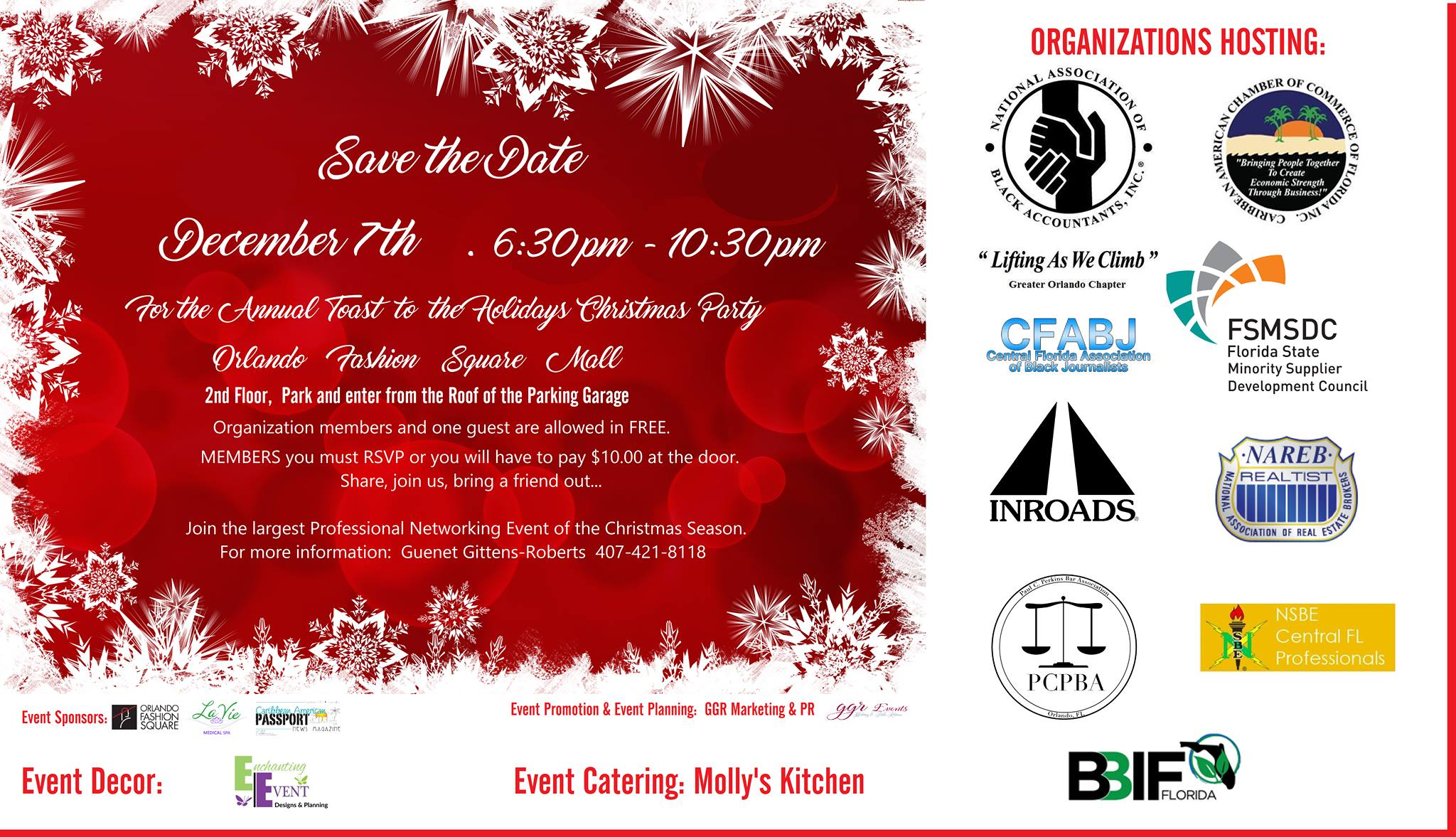 5th Annual Toast to the Holidays Christmas Party