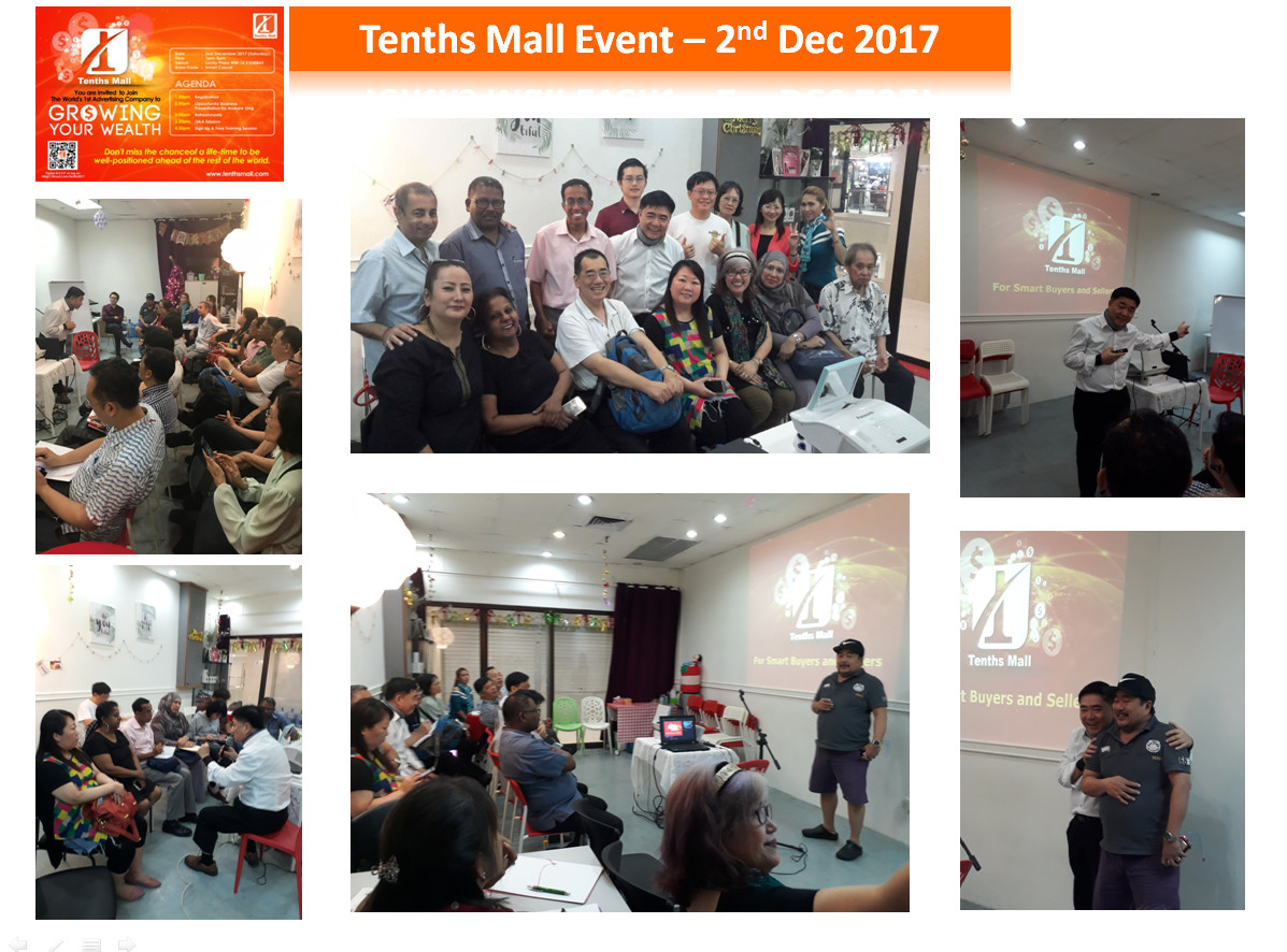 TenthsMall Event