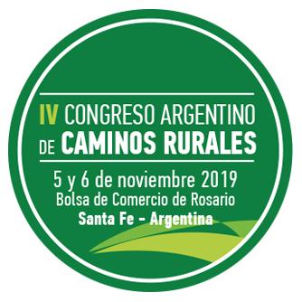 Logo IV Congreso Argentino de Caminos Rurales