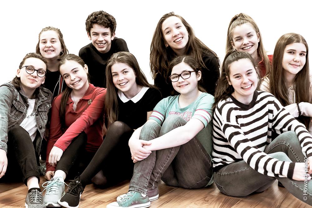 Groupe des adolescents niveau 1