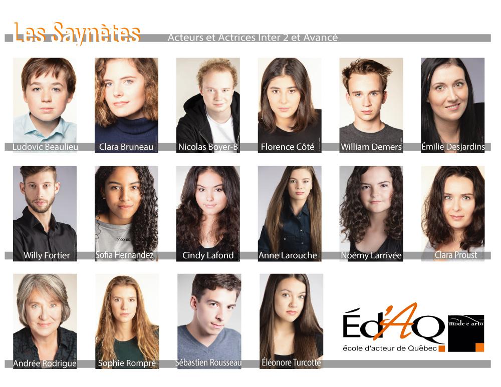 photos de casting d'acteurs de l'agence Mode é Arto