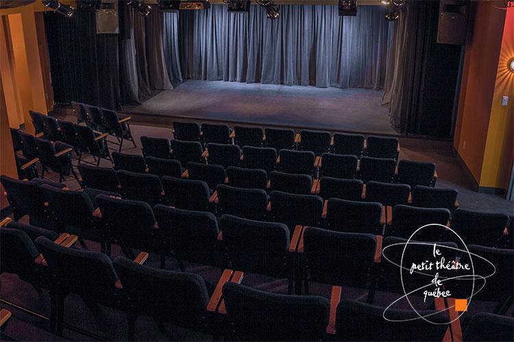 Scène et public du Petit Théâtre de Québec