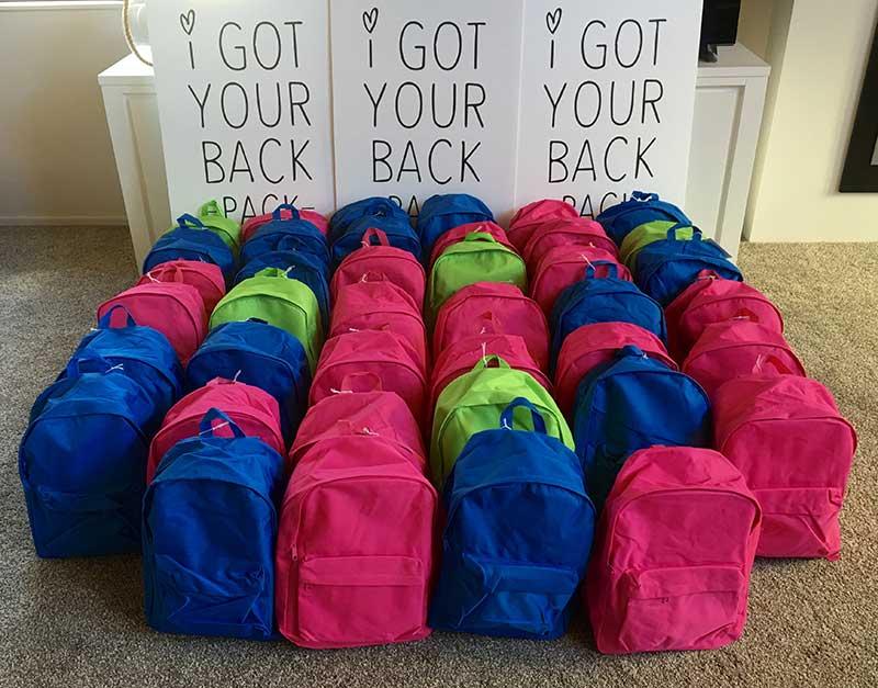 I got your back pack