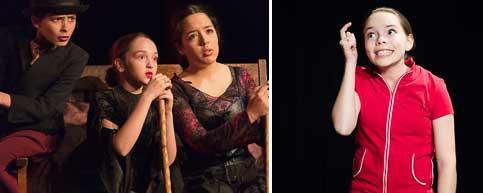 enfants acteurs de Québec en formation d'art dramatique