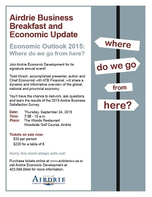 Airdrie Business Breakfast & Economic Update