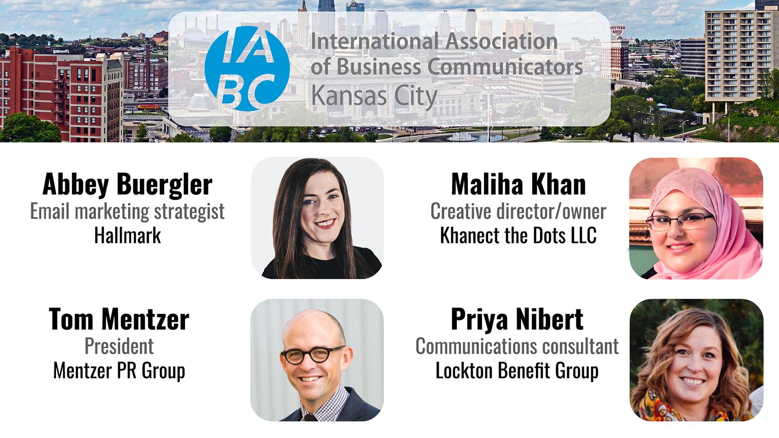 November speakers KC/IABC B2B marketing