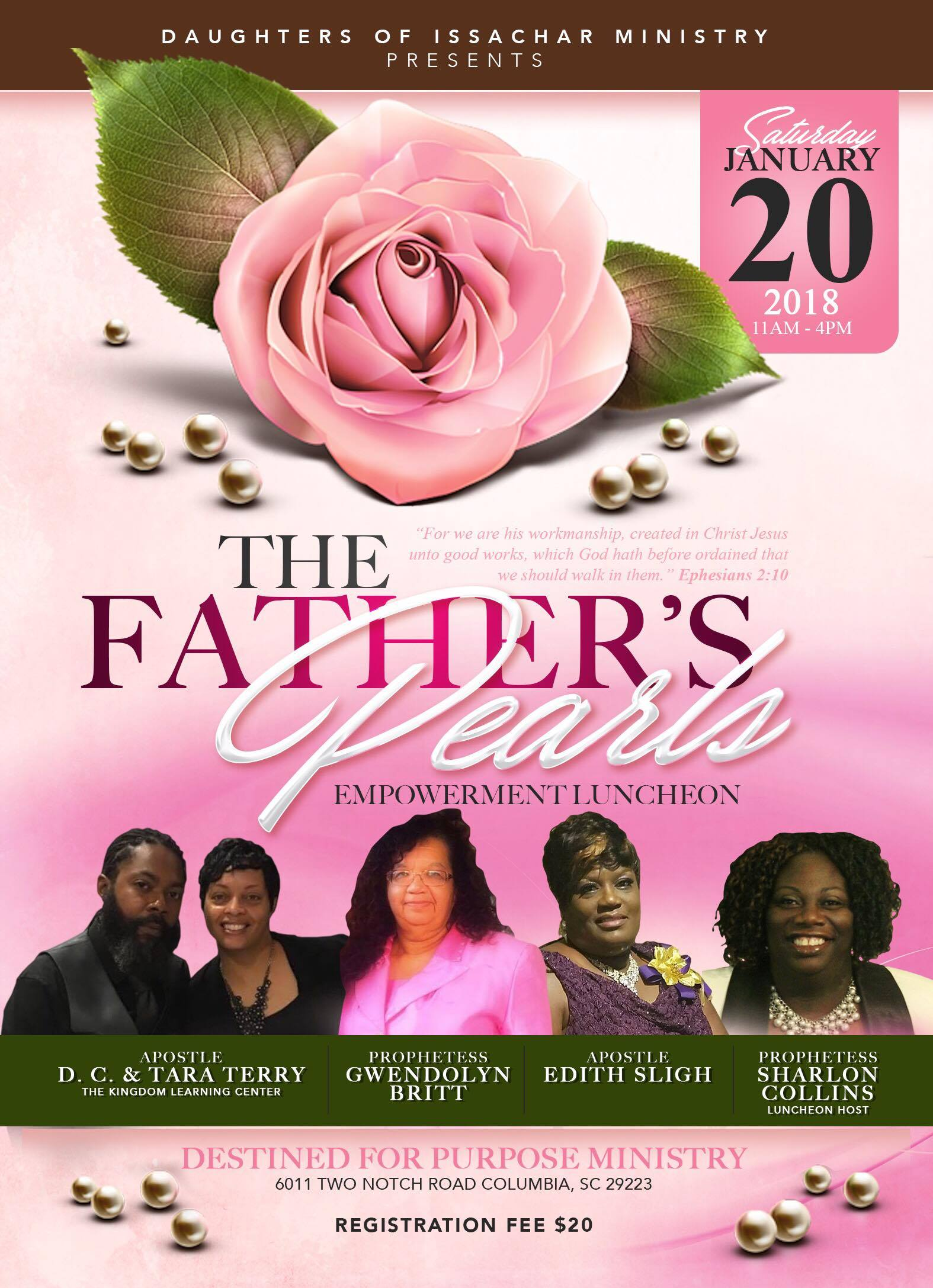 The Father's Pearls Empowerment Luncheon