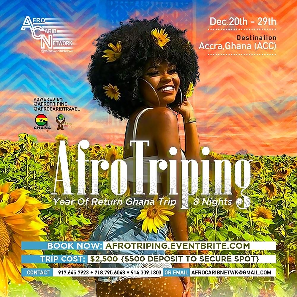 AfroTriping   Year Of Return Ghana Trip   8 Nights Tickets