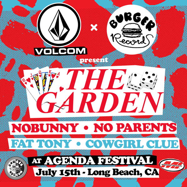 Volcom x Burger Records Stage