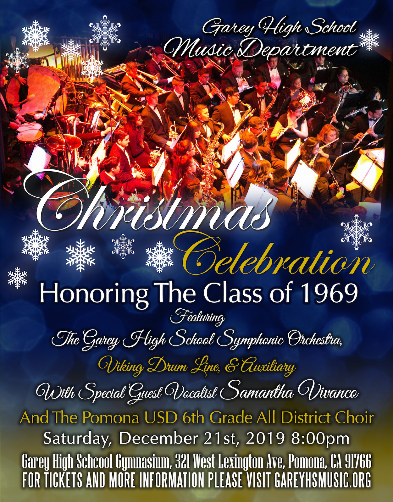 2019 Christmas Music.Garey High School Music Department Christmas Celebration