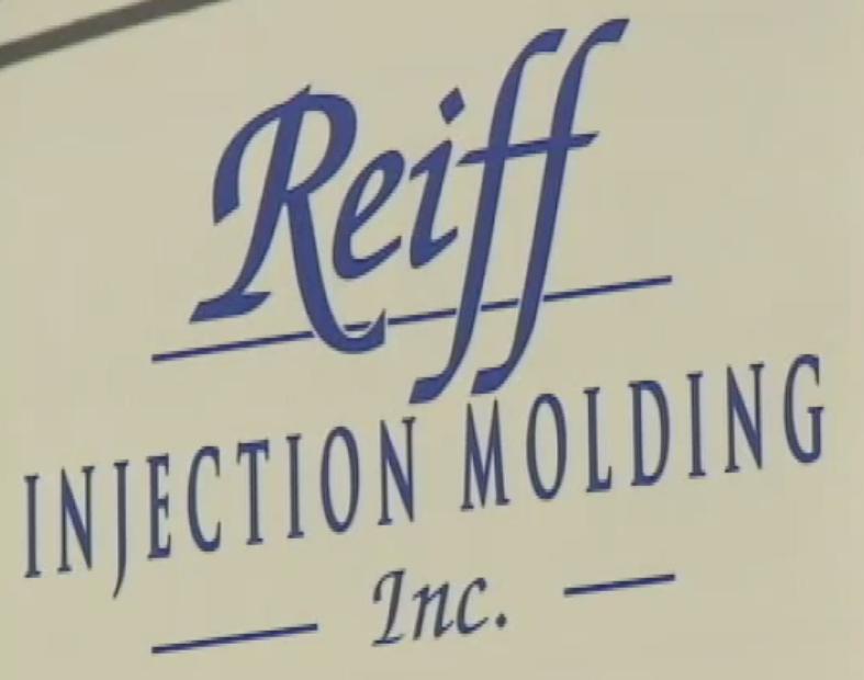 Reiff Injection Molding sign