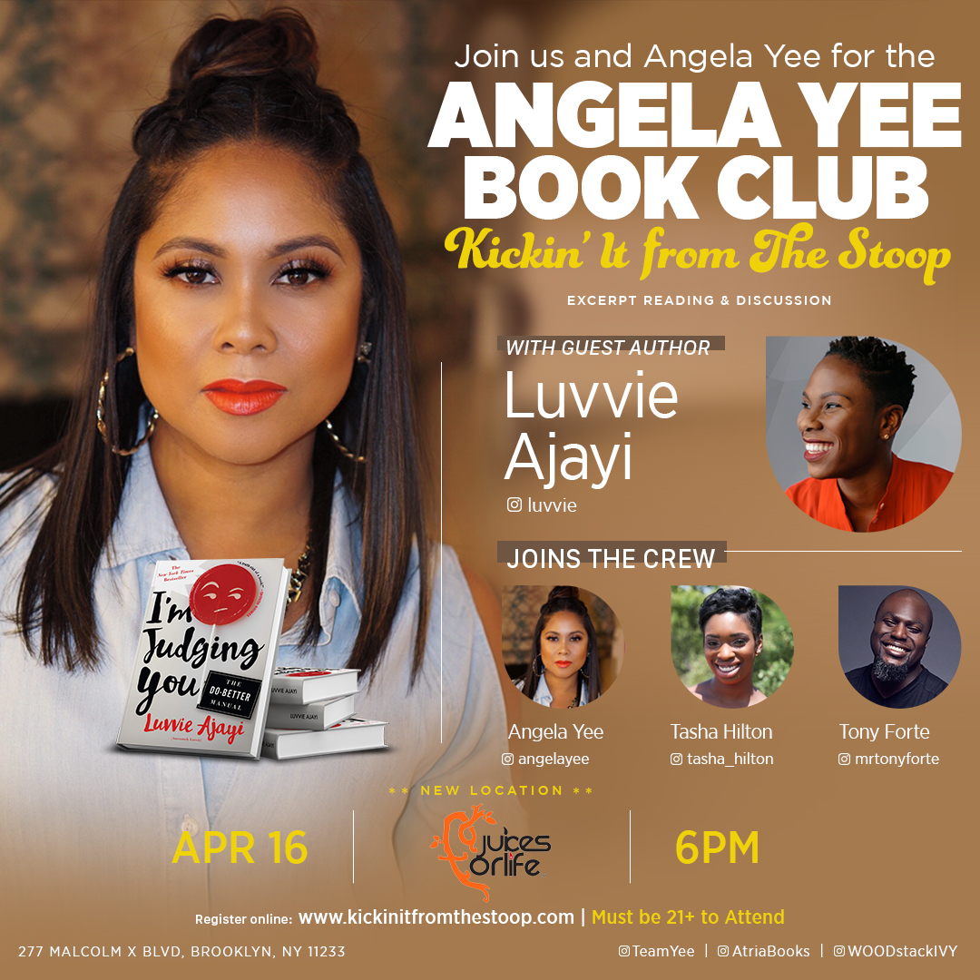 Kickin' It From The Stoop with Luvvie Ajayi