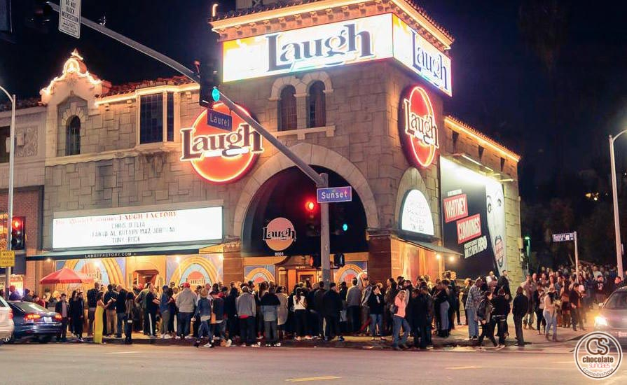 Often imitated, but never duplicated. Join us for Chocolate Sundaes, Hollywood's hottest comedy show, at the world famous Laugh Factory on Sunset Blvd! Our show is unlike any other comedy show you've seen, featuring your favorite comedians, a hot DJ on the 1's and 2's, and LA's sexiest crowd. RSVP.