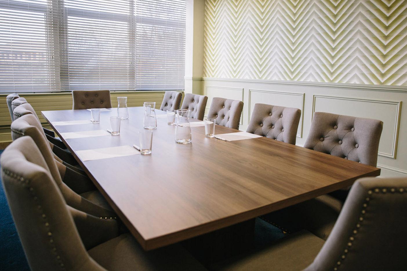 Board Room at Hub 26 Cleckheaton