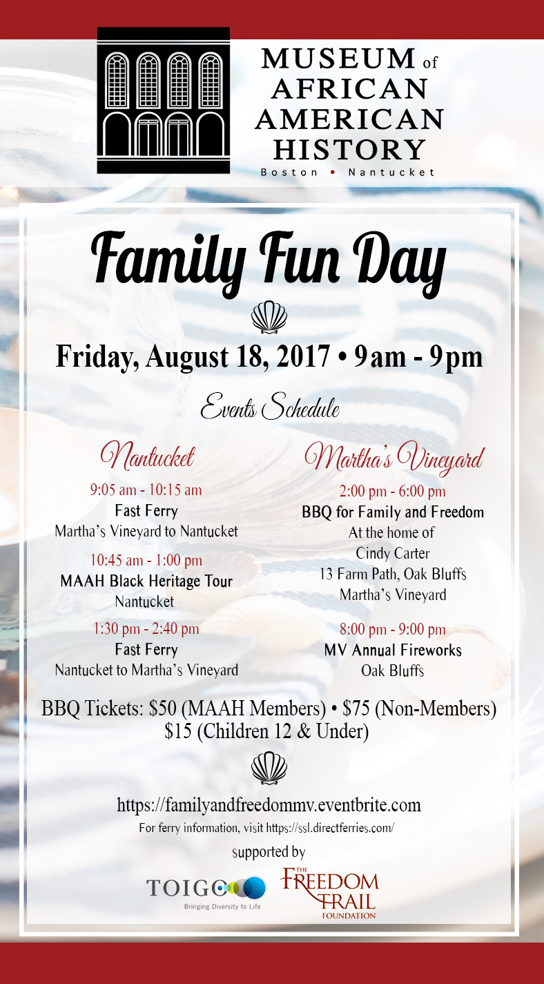 MAAH Fun Day Flyer
