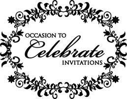 Occasion To Celebrate Wedding & Party Invitations