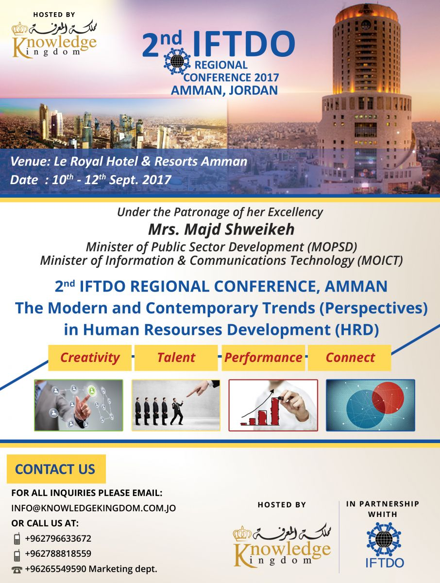 IFTDO Conference 2017 flyer
